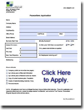 Pacesetter Application
